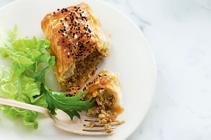 This spicy take on the classic sausage roll is sure to liven up the dinner table.