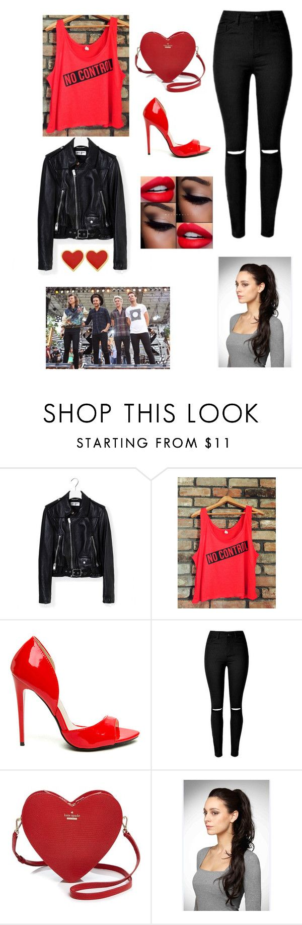 """""""One Direction concert 2017"""" by sarahbear231 on Polyvore featuring Yves Saint Laurent and Kate Spade"""