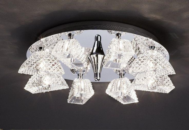 -69% Reduziert!    Edle Deckenleuchte von Bankamp im Kristall-Design!    #einrichten #lampen #wohnideen