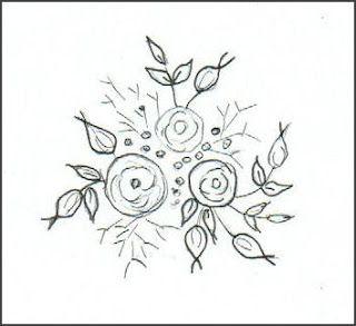 Silk Ribbon Embroidery: FREE SRE DESIGNS Carol Daisy  tutorials