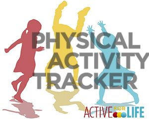 Track your child's activity with Active for Life's handy, printable log - Active For Life   Active For Life