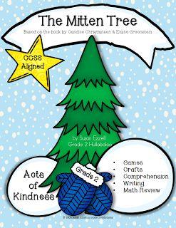 The mitten tree writing activities