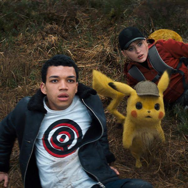 Pokemon Detective Pikachu Tim Goodman Lucy Stevens 4k