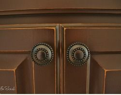 How to Paint and Distress Cabinets