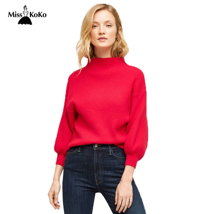 MissKoKo-Autumn-Tops-Women-Clothing-font-b-Red-b-font-High-Coller-font-b-Long-b.jpg (1000×1000)