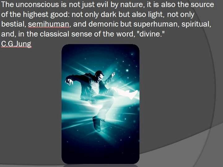 Carl Jung quotation on the Unconscious and Evil