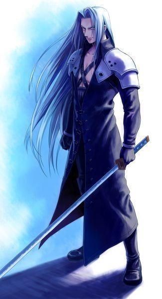 Sephiroth. Final Fantasy VII. Fan art.