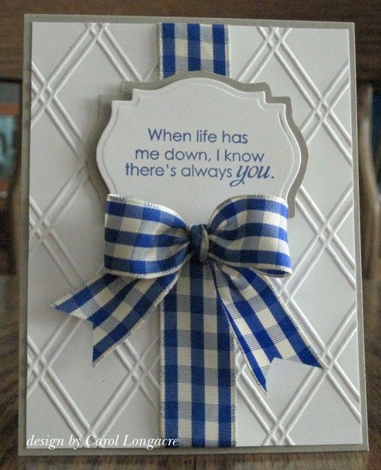 great inspirational card!! Stampin Up