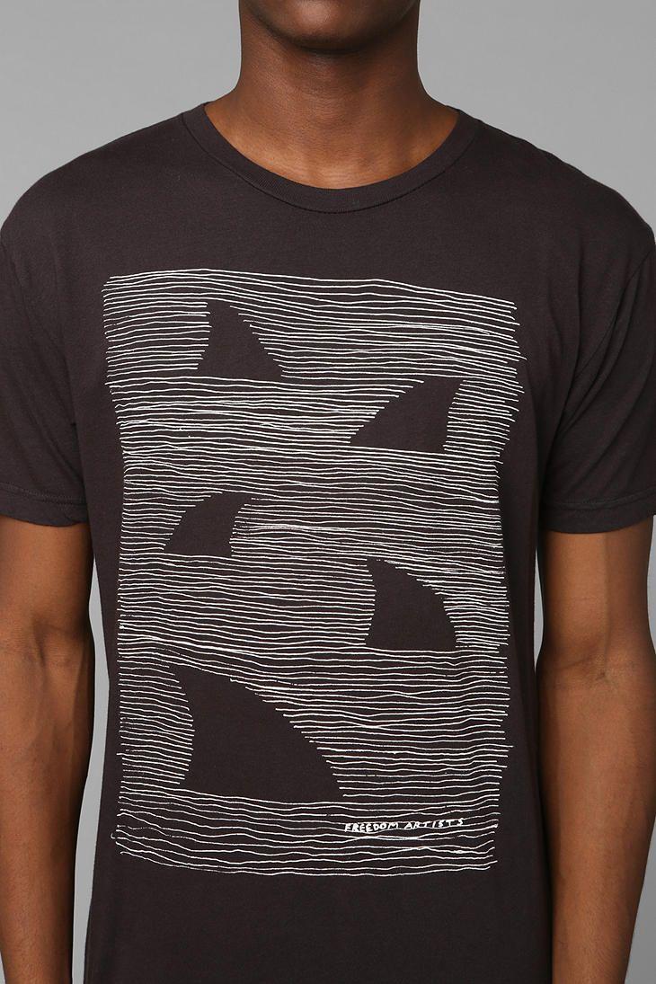 Shark shirt Urban Outfitters