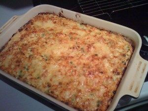 Slimming World cheese and onion pie