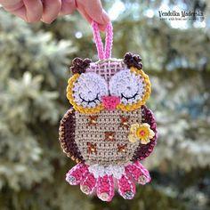 Crochet owl - pattern by VendulkaM