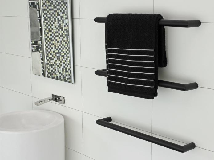 Best 20 towel rail ideas on pinterest bathroom towel - Heated towel racks for bathrooms ...