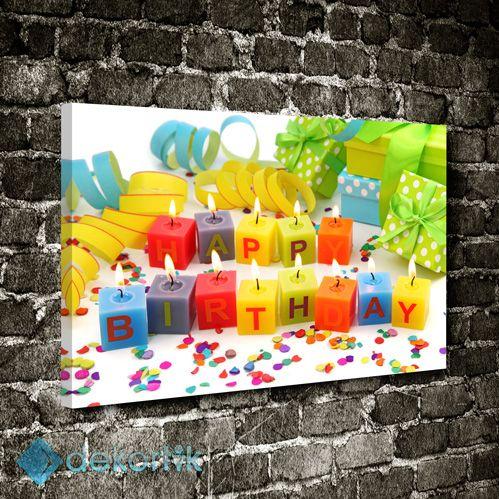 Happy Birthday Mumlar Tablo #çocuk_odası_tabloları #genç_odası_tabloları