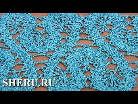 Crochet Lace of the Buges Tutorial 19 Part 1 of 2 Кайма или лента в технике брюггского кружева - YouTube