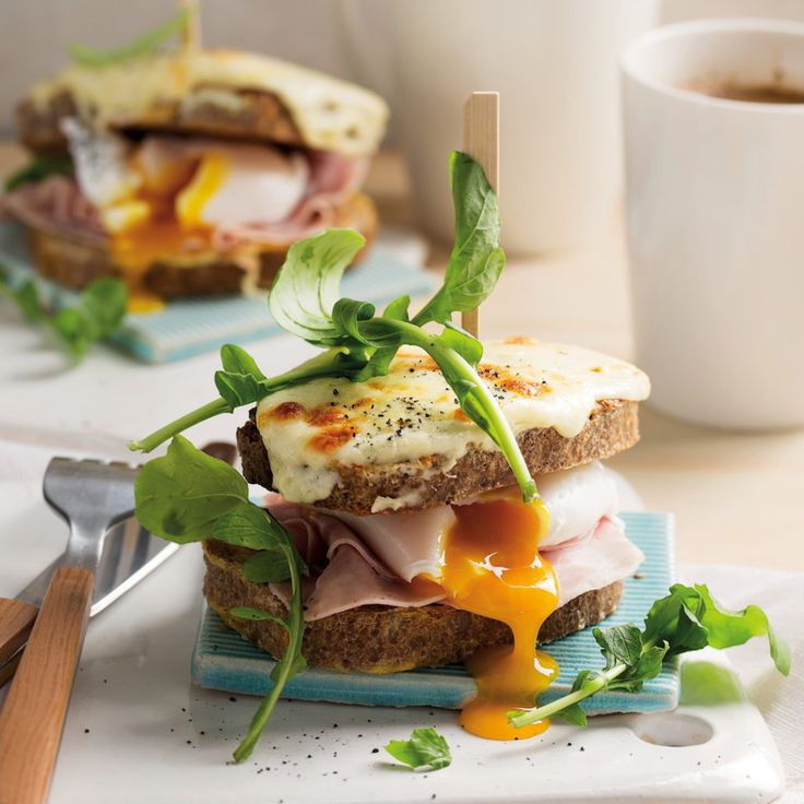 French toast croque madame - MyKitchen