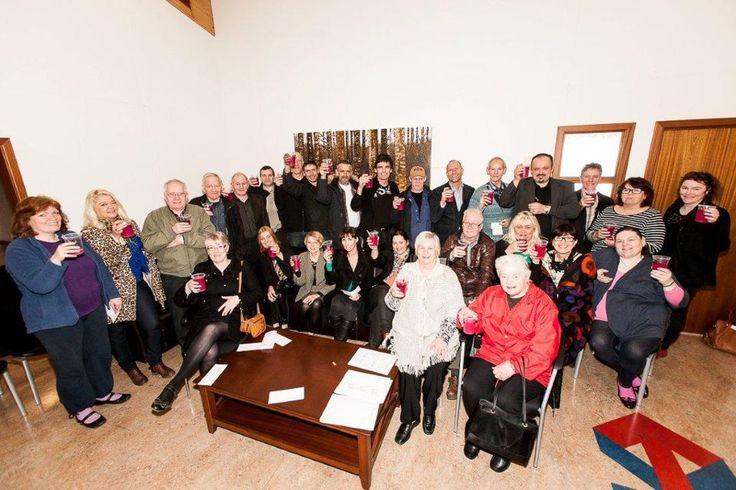 Member meeting in Iceland.