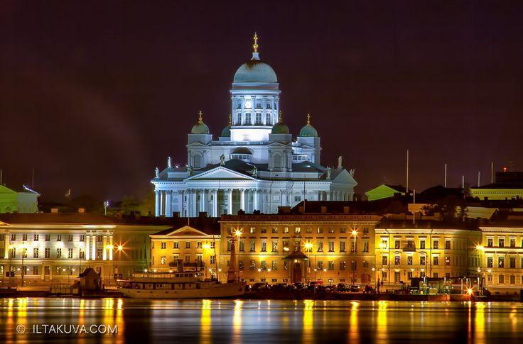 Helsinki Cathedral by iltakuva  on 500px