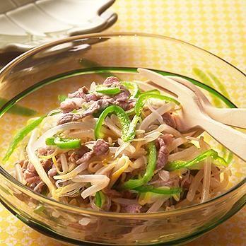 牛肉とはるさめの中華サラダ by石垣孝子さんの料理レシピ - レタスクラブニュース