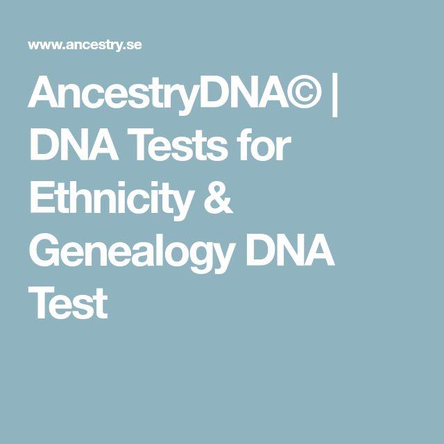 AncestryDNA© | DNA Tests for Ethnicity & Genealogy DNA Test