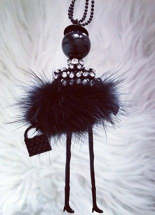 Kupuj mé předměty na #vinted http://www.vinted.cz/doplnky/nahrdelniky-and-privesky/14760061-fashion-panenka-cerna