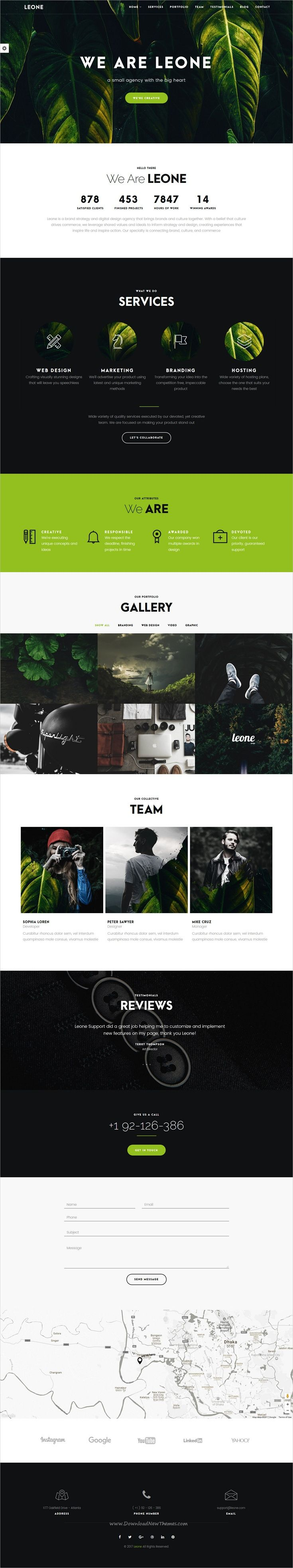 Leone is a wonderful multipurpose responsive #Joomla template for #onepage #business websites download now➩ https://themeforest.net/item/leone-one-page-multi-purpose-joomla-template/19327305?ref=Datasata