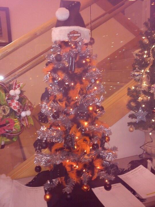 Harley Davidson tree