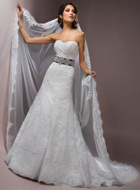 31 best dream gowns images on pinterest wedding dressses Wedding Dress Shops Queen Street Mall Brisbane attractive strapless sleeveless lace wedding dress but such an ott veil! wedding dress shops queen street mall brisbane