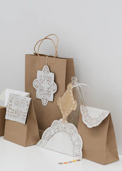 what a cute idea.  i love the mix.  I think i will use real doilies as opposed to paper that way its a gift within a gift!