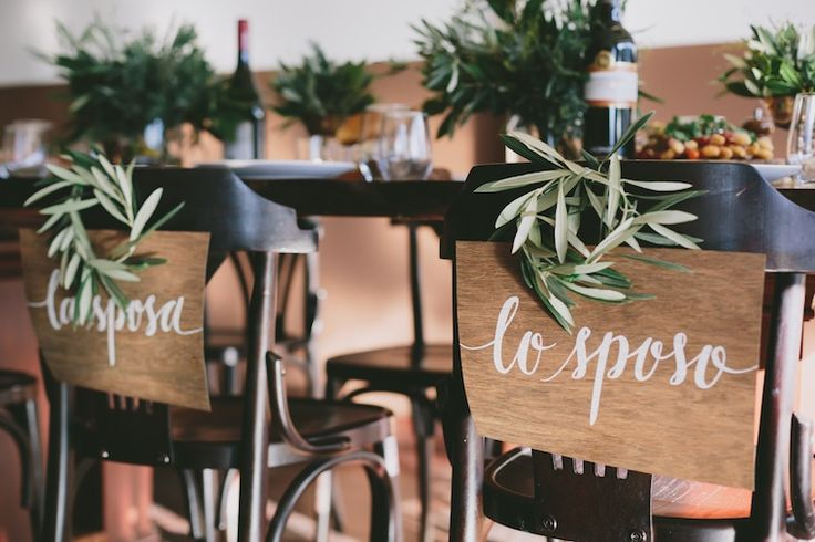 Italian Wedding Inspiration: Ave Cucina - The Ever After Story