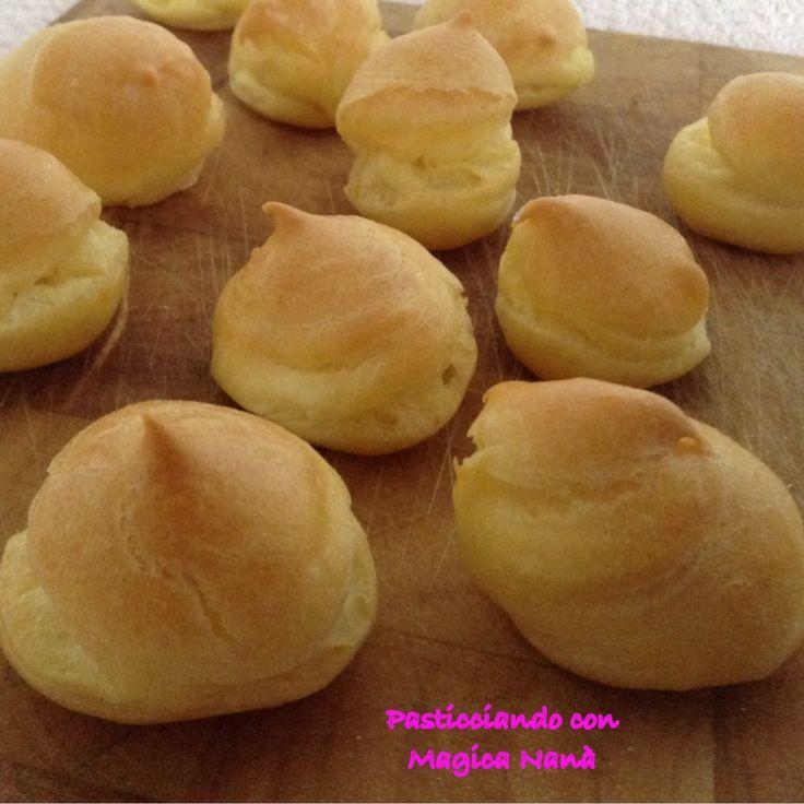 Pasta choux ricetta bimby e tradizionale