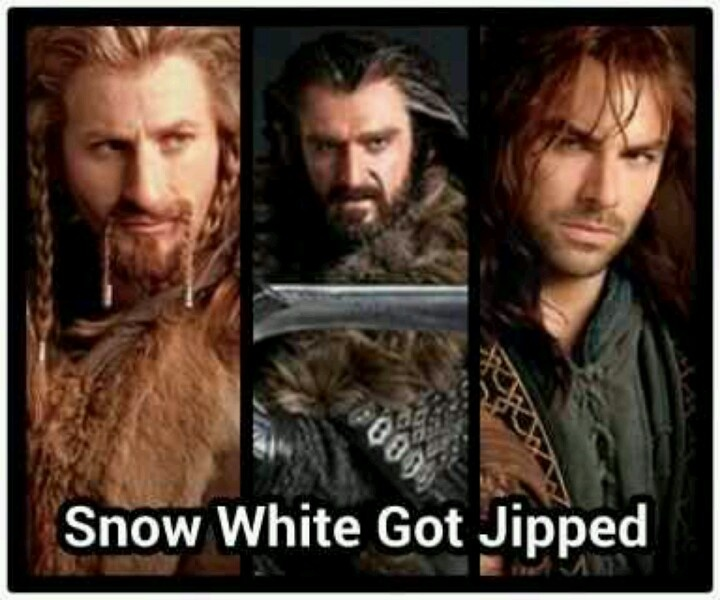 I'm glad I wasn't the only one who found Fili, Kili, and Thorin attractive...
