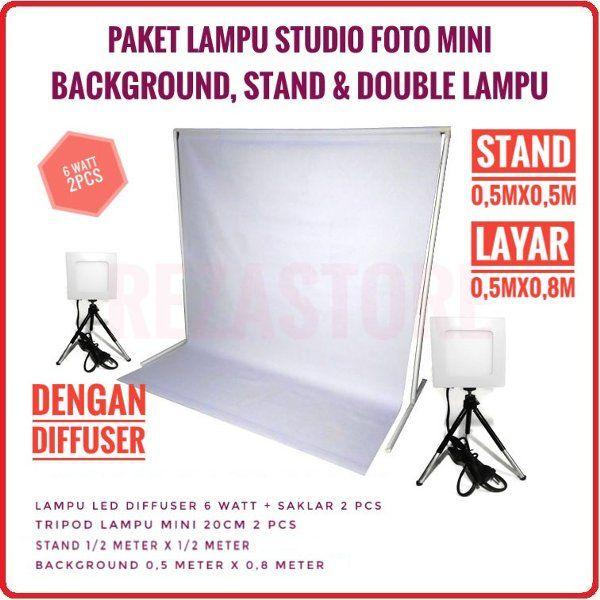 Jual Lampu Studio 6 Watt Lengkap Di Lapak Reza Store Eas