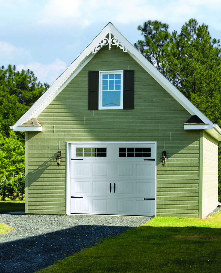 Garage Door Model : North Hatley Carriage Style, ice white. Get a FREE QUOTE : http://www.automateddoorsystems.com/ca/get-a-quotation/