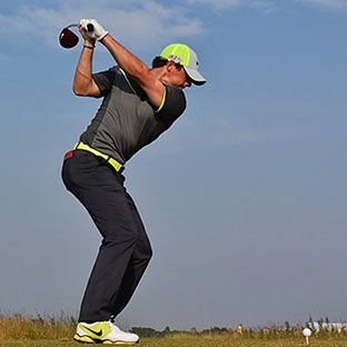 Rory McIlroy. Swing Thoughts.