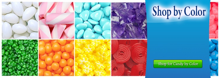 Coolest website to buy any kind of candy! Search by color, flavor, occasion, brand, etc!
