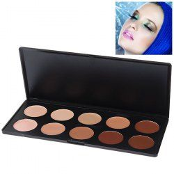 $6.13 Fashionable Face Concealer Essential Cosmetic Set for Women (10 Colors)