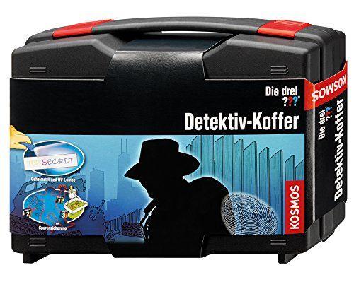 Für kleine Meisterdetektive: Der Detektiv-Koffer Die drei ???  ist ein spassiges und spielerisches Geschenk für Mädchen und Jungs.
