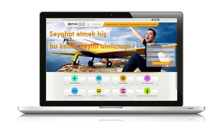 Seyahat faaliyetleri ve şirketler için en doğru çözümleri sunan Setva Turizm web sitesi yayında  www.setvaturizm.com