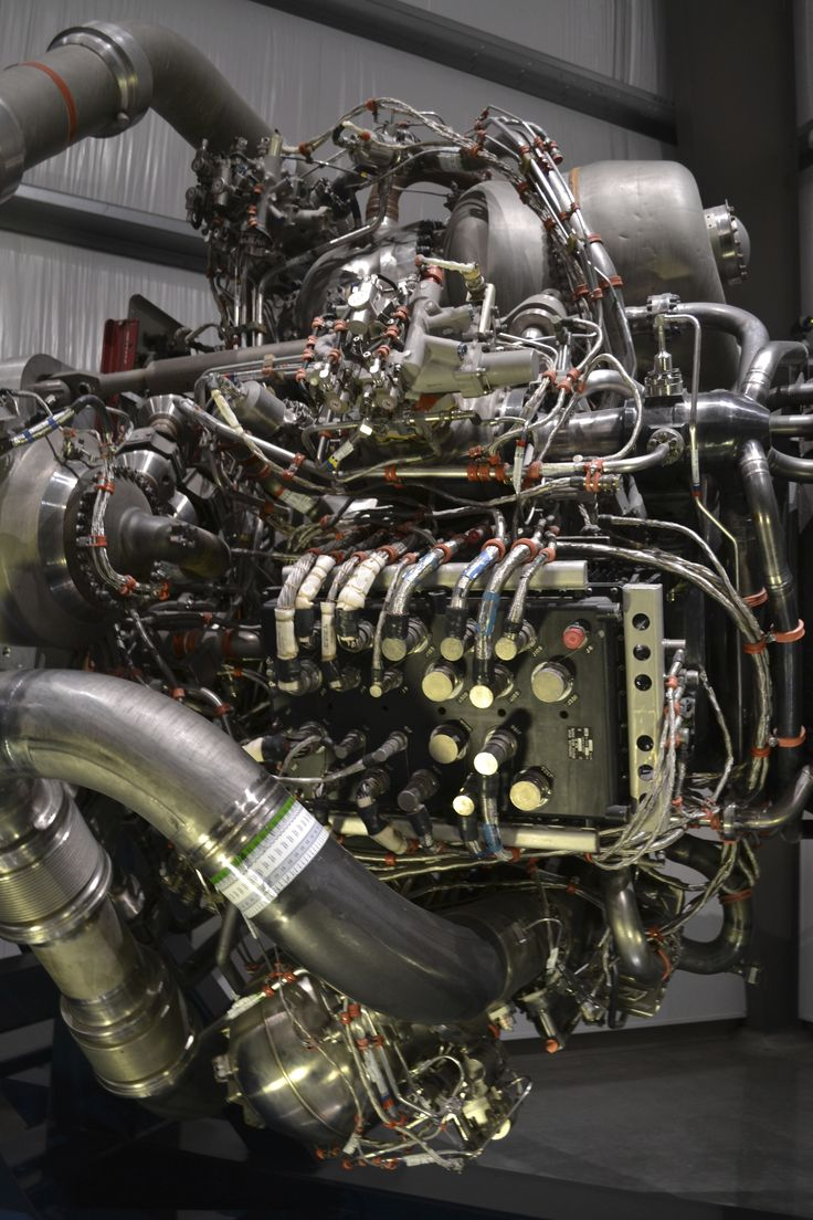 How do you get humans into space? This is how. The engine of the space shuttle…