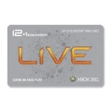 Xbox 360 Live 12 Month Gold Card plus 1 Month Bonus (Video Game)By Microsoft Software