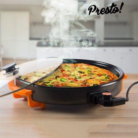 #Pfanne #elektrisch #kochen #braten #Pizza #Paella #Küche #essen