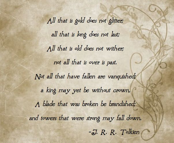 Tolkien's early version of the well-known