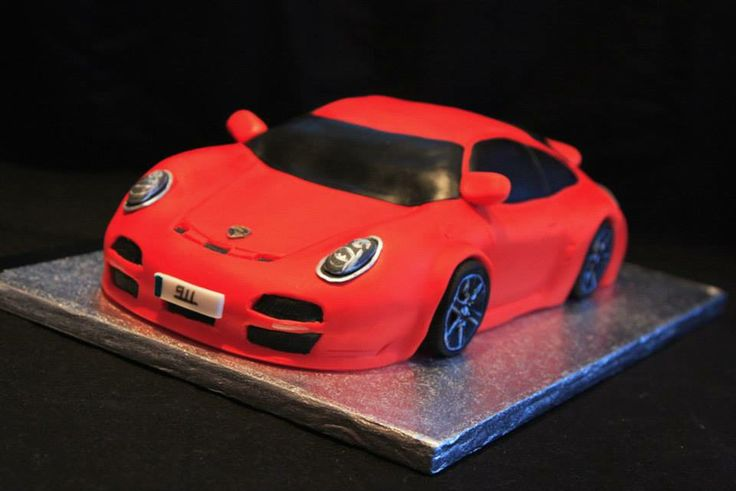 Porsche Cake Gj Cakery In 2019 Cake Birthday Cake