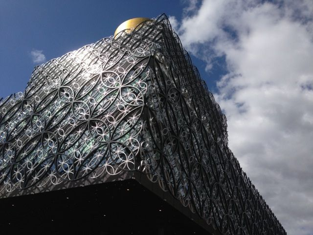 Birmingham, UK - new library