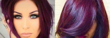 Durf jij je haar in een prachtige violet kleur te verven?