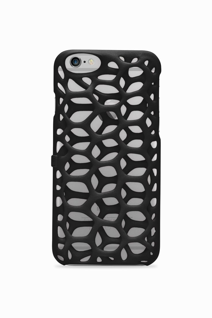Freshfiber Membrane Phone Case in Graphite Black | Freshfiber.com