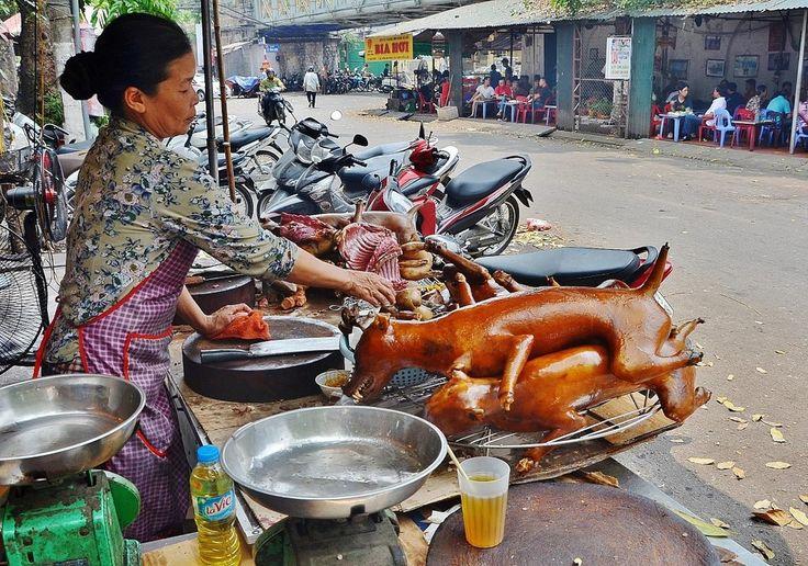 Самая вкусная и распространенная уличная еда в Азии