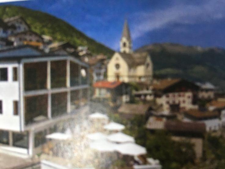 Gasthof Zur sonne Stelvio Italië  Slept here in 2017.