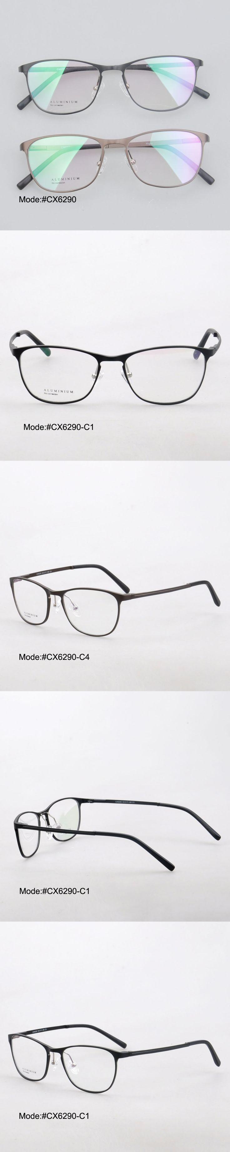 MY DOLI CX6290 men style full rim alloy aluminium RX optical frames myopia eyewear eyeglasses with spring hinge
