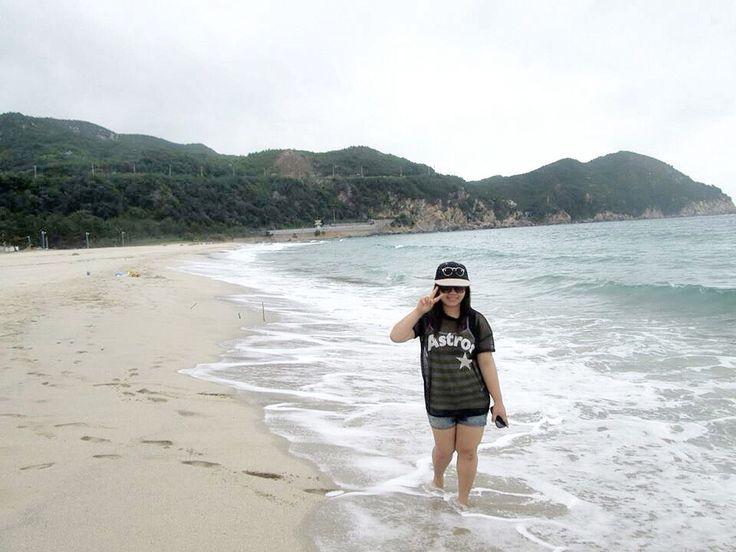 Yonghwa Beach, Samcheok City! ~.~